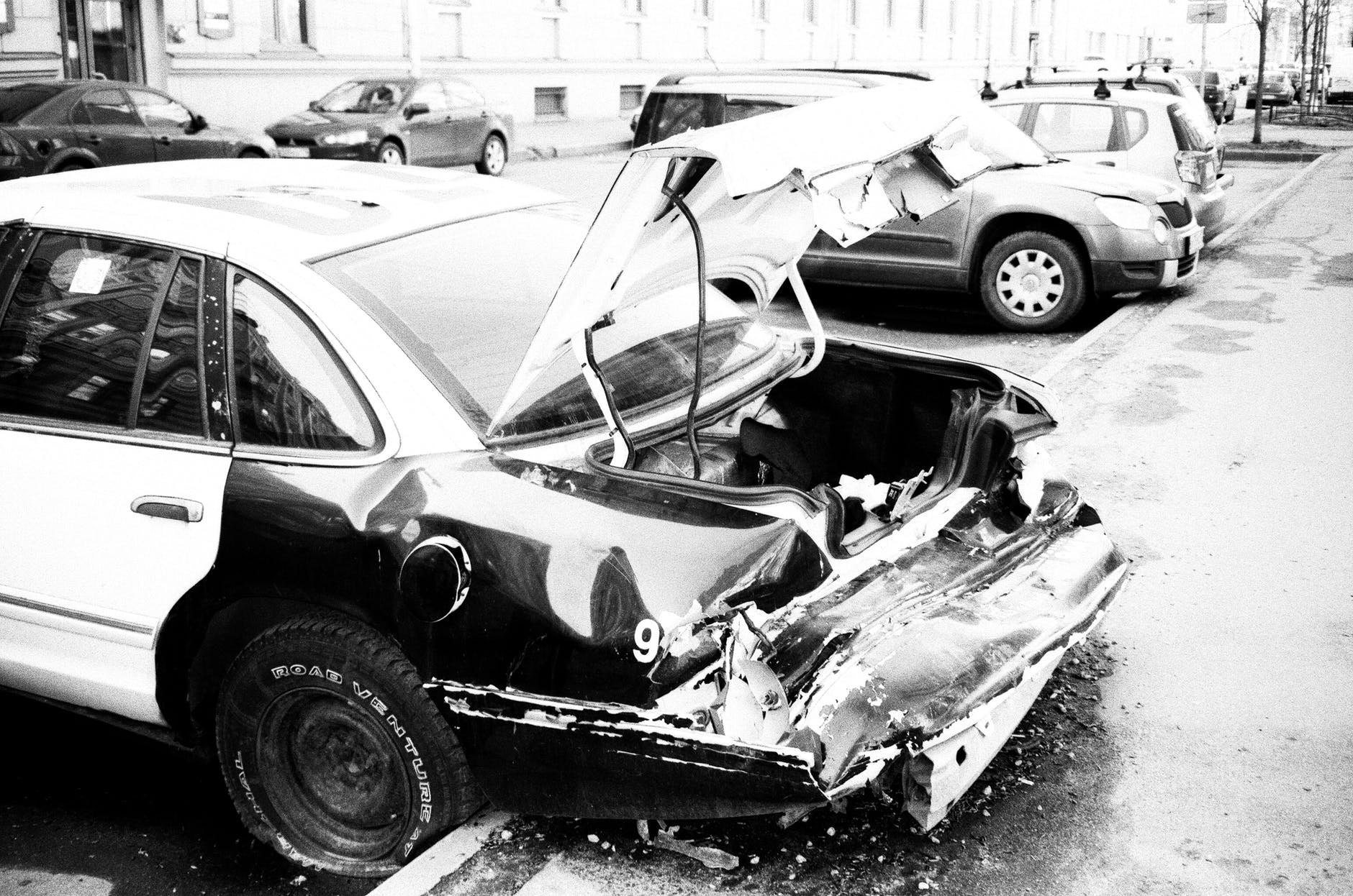 car wreck car accident