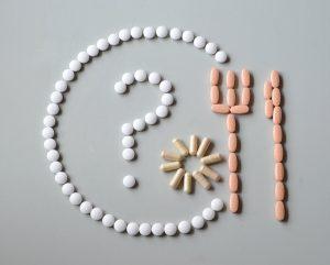 assorted various pills